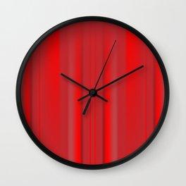Draping Wall Clock