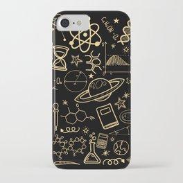 Physics Math Chemistry Biology Astronomy I Teacher Professor Parting Gift iPhone Case