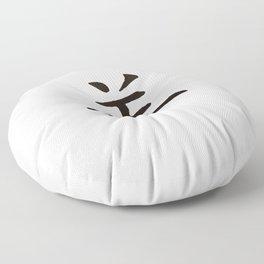 Chinese zodiac sign Goat Floor Pillow