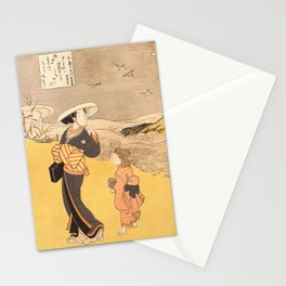 The Jewel River of Plovers Stationery Cards