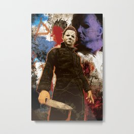 "Michael Myers Halloween ""The Curse of Thorne"" Metal Print"