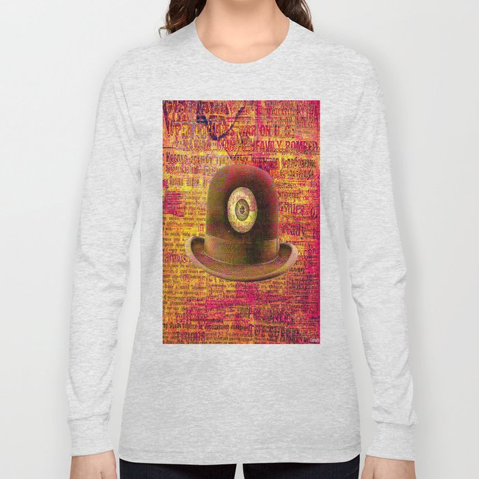 Mystical bowler hat Long Sleeve T-shirt