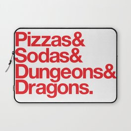 Dungeons & Dragons & Swag Laptop Sleeve