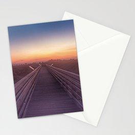 Walk Into Sunset Stationery Cards
