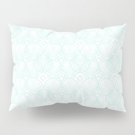 Miami Beach Motel- Mint Pillow Sham