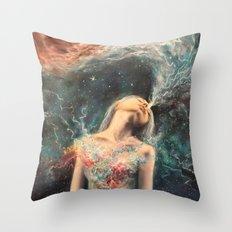 Love Will Split You Open Into Light Throw Pillow