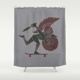 This is Skataaaaahhhh! Shower Curtain