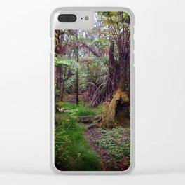 Hawaiian Hideaway Clear iPhone Case