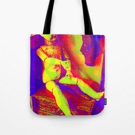 Dearest Playmate Tote Bag