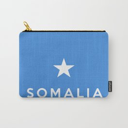Somalia country flag name text Carry-All Pouch