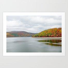 Fall Drive 004 Art Print
