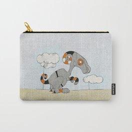 Kangaroo Go-Go Grey Carry-All Pouch