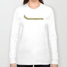 Caterpillar Shoe Fetish Long Sleeve T-shirt