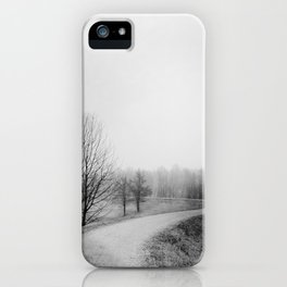 Landscape stories_Path iPhone Case