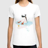 duck T-shirts featuring Duck by Dogfrogduckbird