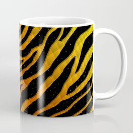 Ripped SpaceTime Stripes - Yellow/Orange Coffee Mug