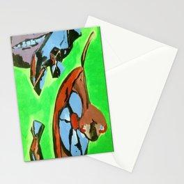 Lime Kool-Aid Stationery Cards