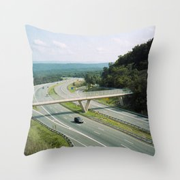 Interstate 68 1 Throw Pillow