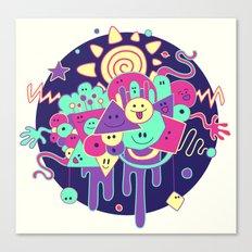 Happydoodle Canvas Print