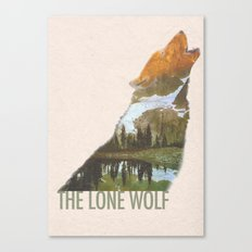 The Lone Wolf Canvas Print