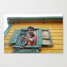 Come on in Canvas Print