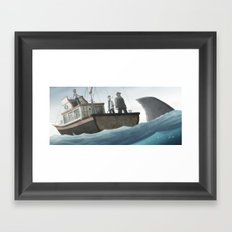 You're Gonna Need A Bigger Boat Framed Art Print