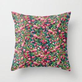Rose Romance Pattern Throw Pillow