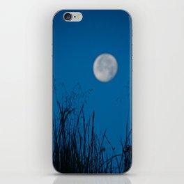 Faded Moon iPhone Skin
