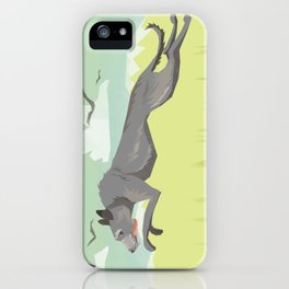 Scottish Deerhound iPhone Case