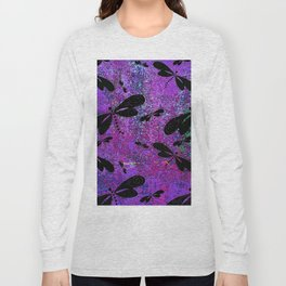 DragonFly Purple Long Sleeve T-shirt