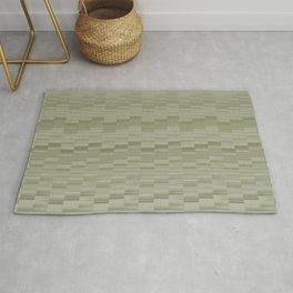 Serene Minimal Design in Sage Green Rug