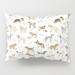 Breeds of Dog Pillow Sham