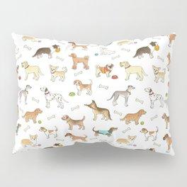 Breeds of Dog Pillow Sham