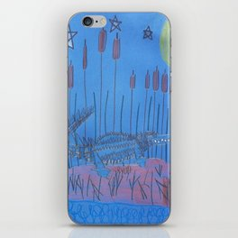 Night Swamp iPhone Skin