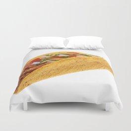 Hard Shell Taco  Duvet Cover