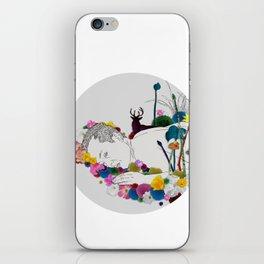 Flower Funeral iPhone Skin