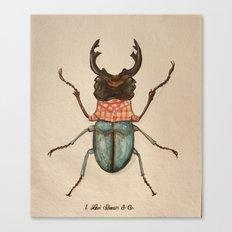 Urban Bug #1 Canvas Print