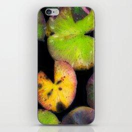 Aqua Lilia i iPhone Skin