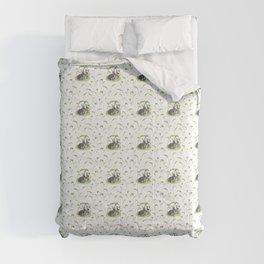 Black rabbits Comforters