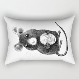 La Petite Souris Rectangular Pillow