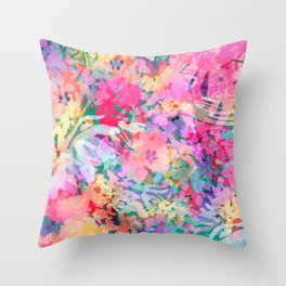 Cool Summer Morning Throw Pillow
