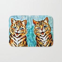 "Louis Wain's Cats ""Winking Cats"" Bath Mat"