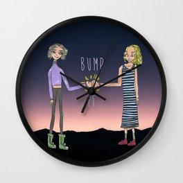 Bump It Wall Clock