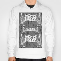 calligraphy Hoodies featuring Calligraphy by Amy Gale