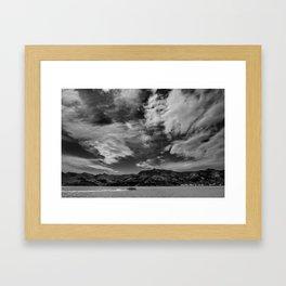 Lyttelton Harbour Ferry Framed Art Print