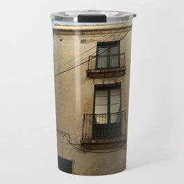 Apartment Windows Travel Mug
