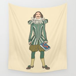 Outfit of Shakespeare Wall Tapestry