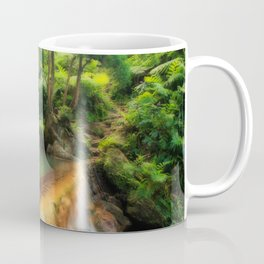 Thermal pool in Azores Coffee Mug