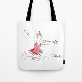 Firebird Ballerina Tote Bag