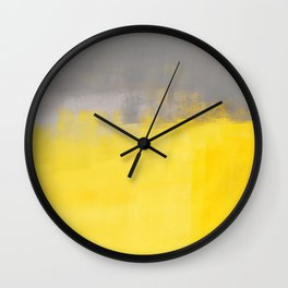 A Simple Abstract Wall Clock